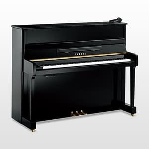 Yamaha P116 SH Silent Upright Piano, Polished Ebony - Free Delivery - PRICE MATCH GUARANTEE