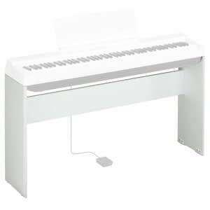 Yamaha L125 Digital Piano Stand for P125 Piano, White - Free Delivery