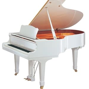 Yamaha GC2 Baby Grand Piano, Polished White - Free Delivery - PRICE MATCH GUARANTEE