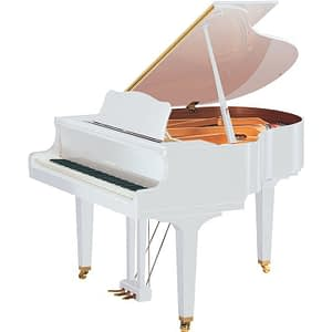 Yamaha GC1M Baby Grand Piano, Polished White - Free Delivery - PRICE MATCH GUARANTEE