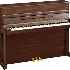 Yamaha B2 Upright Piano, Polished Walnut - Free Delivery - PRICE MATCH GUARANTEE