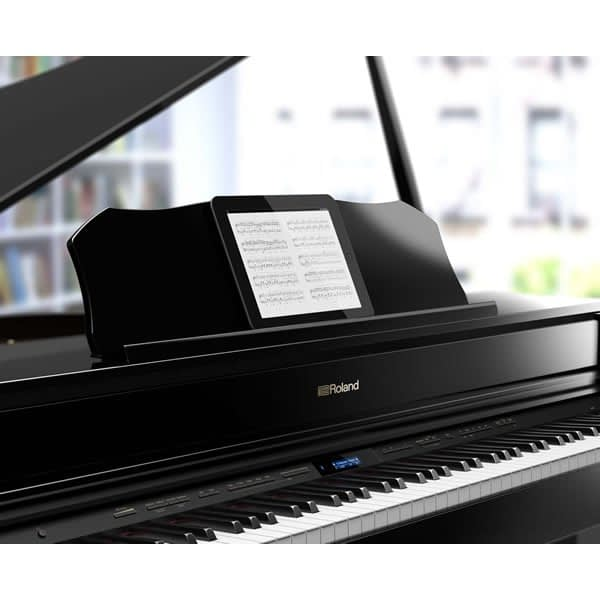 Roland GP607 Digital Grand Piano, Polished Ebony - Free Delivery - PRICE MATCH GUARANTEE
