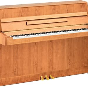 Yamaha B1 Upright Piano, Satin Beech - Free Delivery - PRICE MATCH GUARANTEE