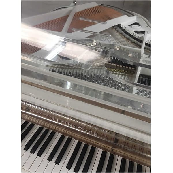 "Steinhoven SG170 Crystal Grand Piano, Transparent (170cm, 5'7"") - FREE DELIVERY"