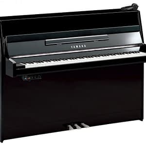 Yamaha B1 SG2 Silent Upright Piano, Polished Ebony with Chrome Fittings - Free Delivery - PRICE MATCH GUARANTEE