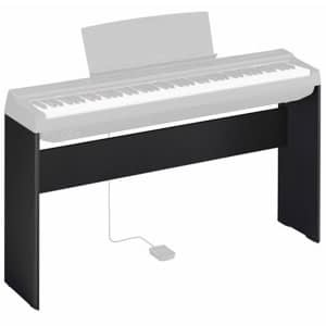 Yamaha L125 Digital Piano Stand for P125 Piano, Black - Free Delivery