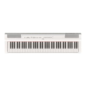 Yamaha P121 Portable Digital Piano, White - Free Delivery - PRICE MATCH GUARANTEE