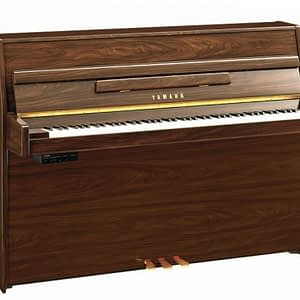 Yamaha B1 SG2 Silent Upright Piano, Polished Walnut - Free Delivery - PRICE MATCH GUARANTEE