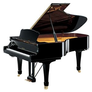 Yamaha S6SH Silent Handcrafted Grand Piano, Polished Ebony - Free Delivery - PRICE MATCH GUARANTEE