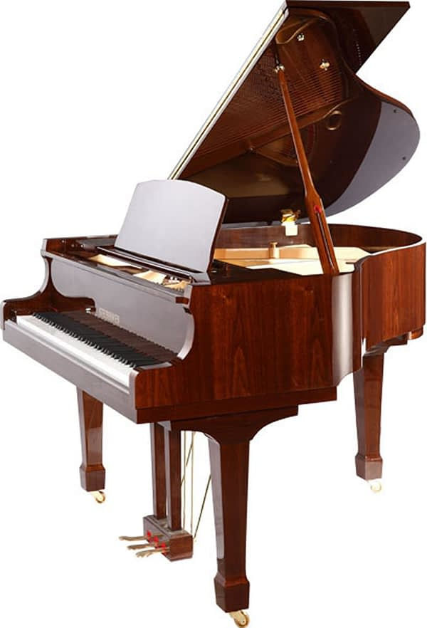 """Steinhoven SG183 Grand Piano, Polished Walnut (183cm, 6'1"""") - FREE DELIVERY"""