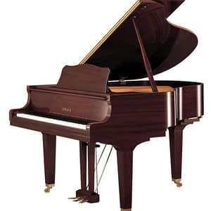 Yamaha GC2 Baby Grand Piano, Polished Walnut - Free Delivery - PRICE MATCH GUARANTEE