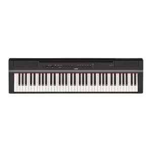 Yamaha P121 Portable Digital Piano, Black - Free Delivery - PRICE MATCH GUARANTEE